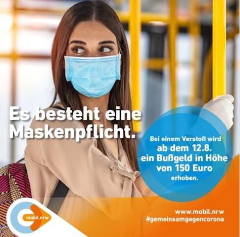 Maskenpflicht Nordrhein Westfalen
